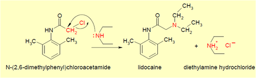 lidocaine molecular mechanism